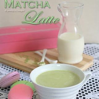 Green Tea {Matcha} Latte