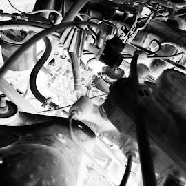 Engine by Eva Schouten - Abstract Patterns