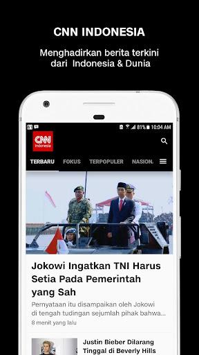 CNN Indonesia - Latest News screenshot 1