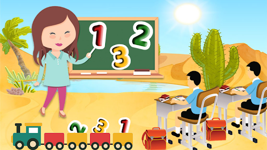 Preschool Kids Learning : ABC, Number, Colors