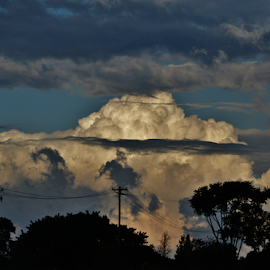 Cloud formation - Avai SP Brazil by Marcello Toldi - Landscapes Cloud Formations
