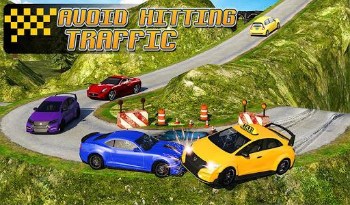 Taxi Driver 3D : Hill Station screenshot 15