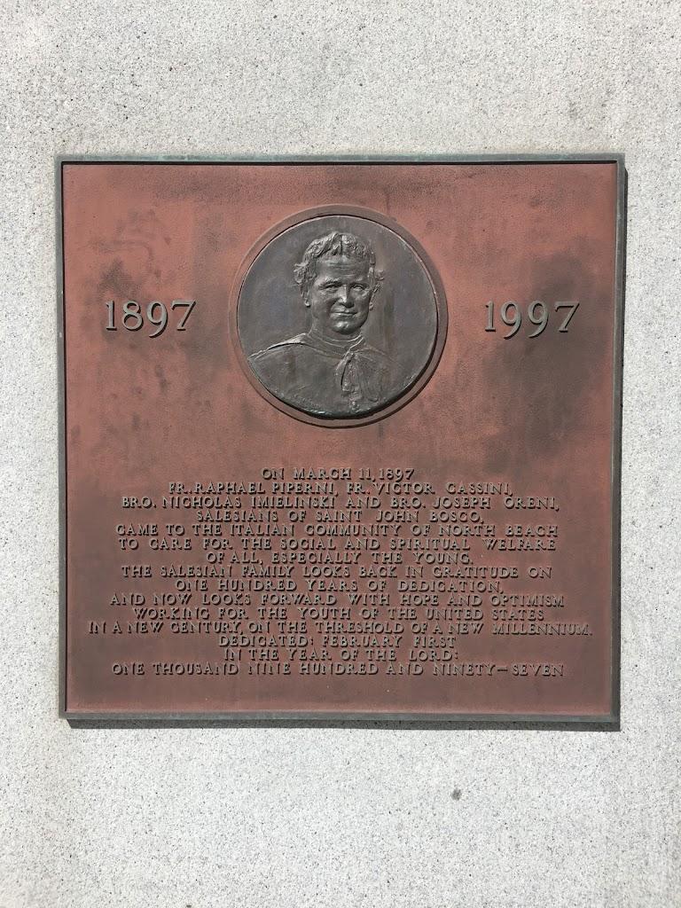 1897   1997 On March 11, 1897 Fr. Raphael Piperni, Fr. Victor Cassini, Bro. Nicholas Imielinski and Bro. Joseph Oreni, Salesians of Saint John Bosco, came to the Italian community of North Beach to ...
