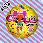 LOL Surprise dolls candy eggs Icon