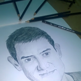 Last page of the book #Mr.Perfectionist #Aamirkhan by Surender Gangineni - Drawing All Drawing