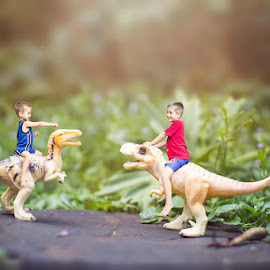 Walking with dinosaurs by Vanessa Kruger - Digital Art People