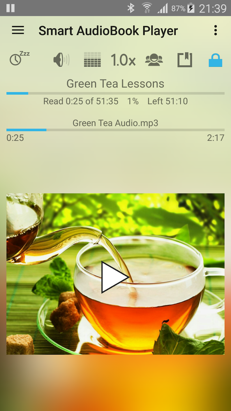 Smart AudioBook Player Screenshot 1