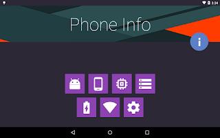 Screenshot of Phone Info