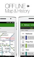 Screenshot of Transit Bangkok Thai NAVITIME