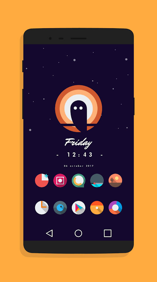 Let It Be O - Pixel 2 Minimalist Icon Pack Screenshot 5