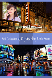 City Hoarding Photo Frame - screenshot