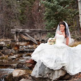 by Melissa Papaj - Wedding Bride ( sundance wedding, resort weddings, sundance ski resort, mountain weddings, sundance wedding photographer, december wedding, winter weddings, utah wedding photographer, destination weddings,  )