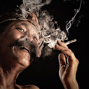 by Lucky E. Santoso - People Portraits of Men ( senior citizen )