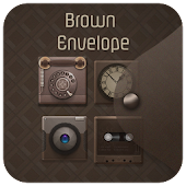 Brown Envelope Theme APK for iPhone