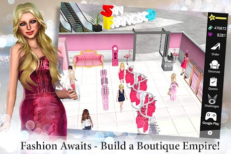 Fashion Empire Boutique Sim Screenshot Thumbnail