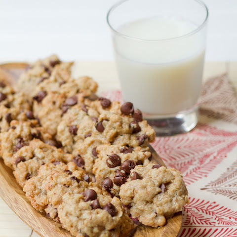 {Olive Oil} Chocolate Chip Cookies