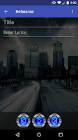 Screenshot of RoadWriter for Songwriting