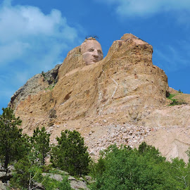 Crazy horse mountain by Mary Gallo - Landscapes Mountains & Hills (  )