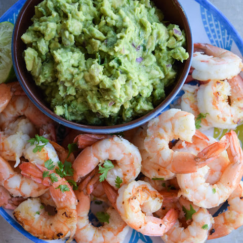 Smoky Shrimp With Guacamole