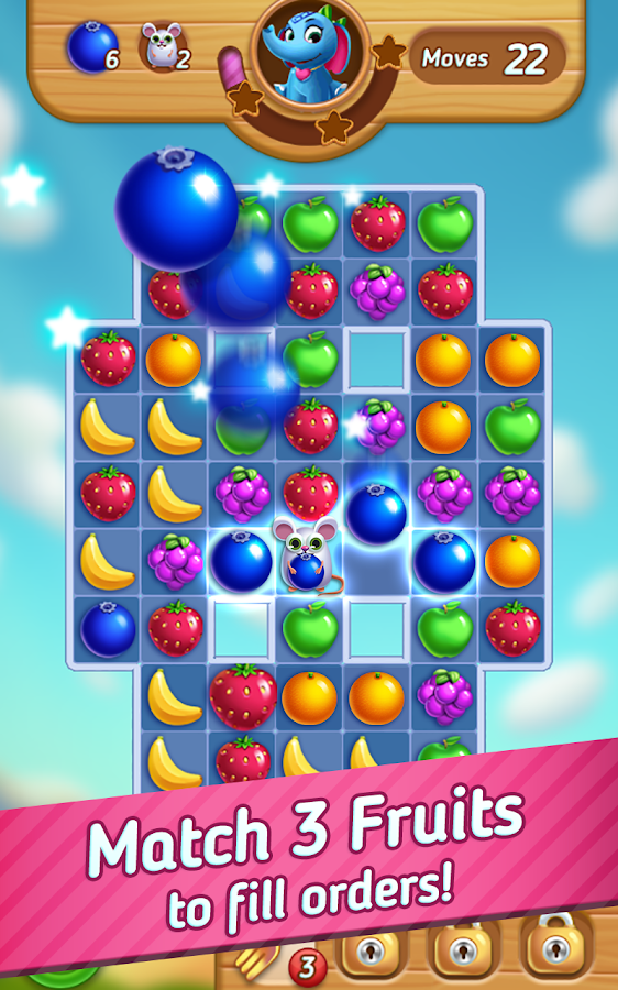 Fruits Mania : Elly's travel Screenshot 0