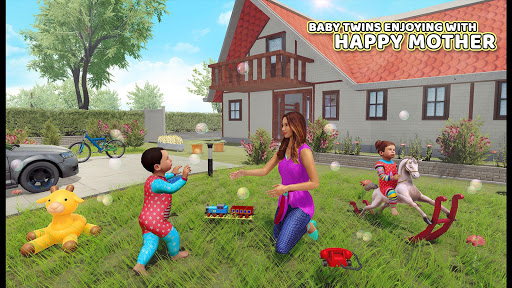 Virtual Mother Baby Twins Family Simulator Game For PC