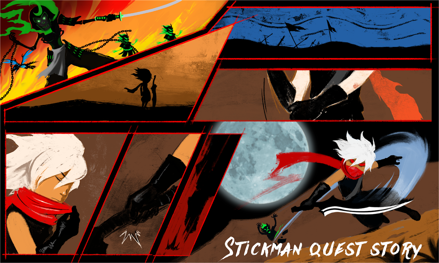 Stickman Quest Screenshot 1