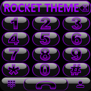 Theme Glow Purple Rocketdial 1.0