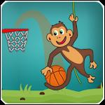 Jungle Monkey basketball game Icon