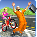 Kids Bicycle Rider Thief Chase APK for Bluestacks
