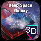 3D Vast Space Galaxy Theme - Galaxy Keyboard.3D APK for Blackberry
