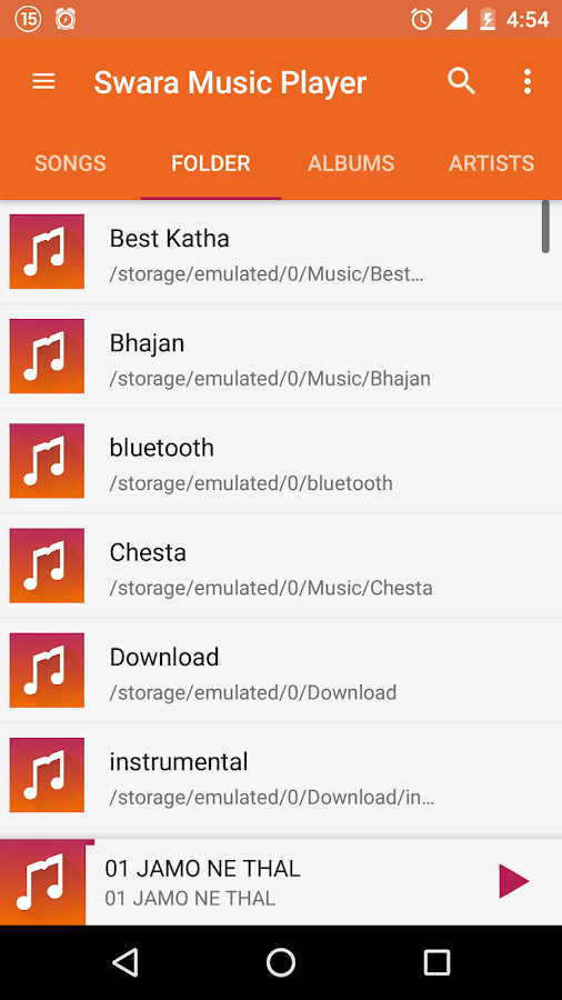 Swara Music Player Pro Screenshot 2