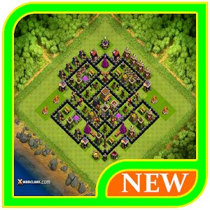 Hybrid Base Layouts Coc 2017