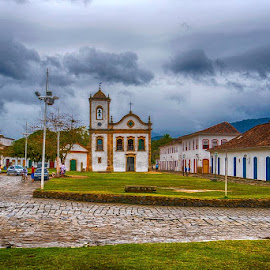 Old Town Paraty by Pravine Chester - City,  Street & Park  Historic Districts ( brazil, paraty, old town, historic district, city )