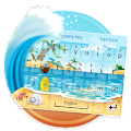 Free Hawaii Beach Theme Keyboard APK for Windows 8