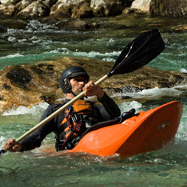 Kayaker by Iztok Urh - Sports & Fitness Watersports