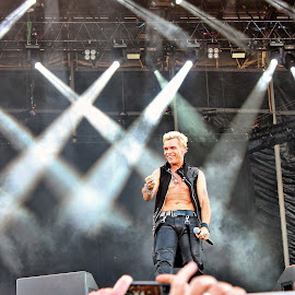 Billy Idol by Roar Randeberg - People Musicians & Entertainers ( contrast, musicians, star, image, pop, billy idol, people )