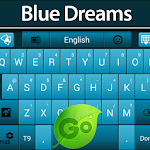 GO Keyboard Blue Dreams Icon