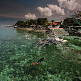 Searching by Þorsteinn H. Ingibergsson - Landscapes Waterscapes ( nature, structor, sea, beach, landscape, philippines )