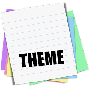 Cover art Sticky Notes Theme School
