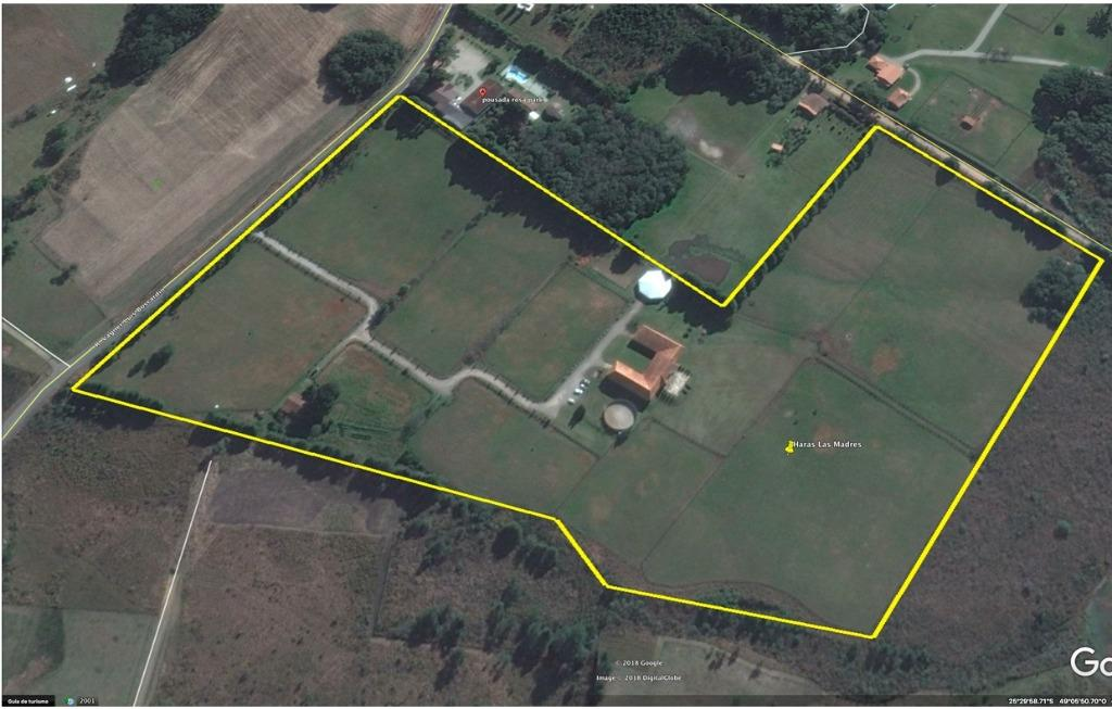 Haras à venda, 96737 m² por R$ 4.200.000 - Águas Claras - Piraquara/PR
