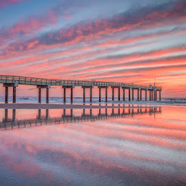 St. Augustine Pier by David Long - Buildings & Architecture Bridges & Suspended Structures