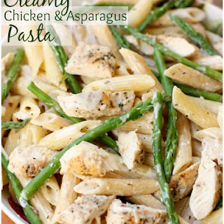 Creamy Chicken Asparagus Pasta Recipes