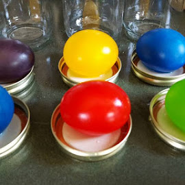 REAL RUBBER EASTER EGGS by Mandy Zielinski - Artistic Objects Other Objects