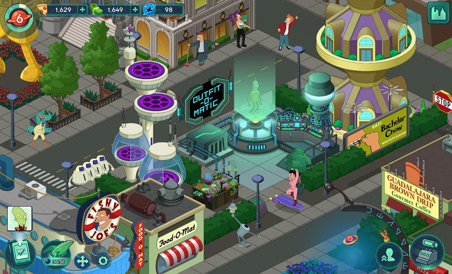 Futurama: Worlds of Tomorrow Screenshot 13