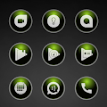App Glossy Green Icons version 2015 APK