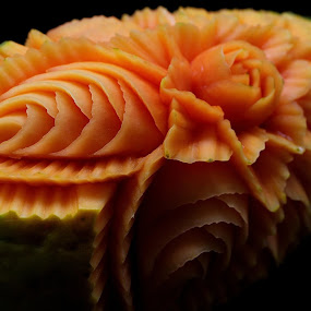 fruit carving by Chef Faizal - Food & Drink Ingredients