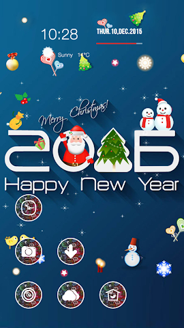 android Dress Up Christmas Screenshot 2