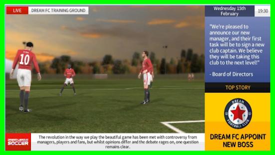 Tips Dream League Soccer APK for Bluestacks