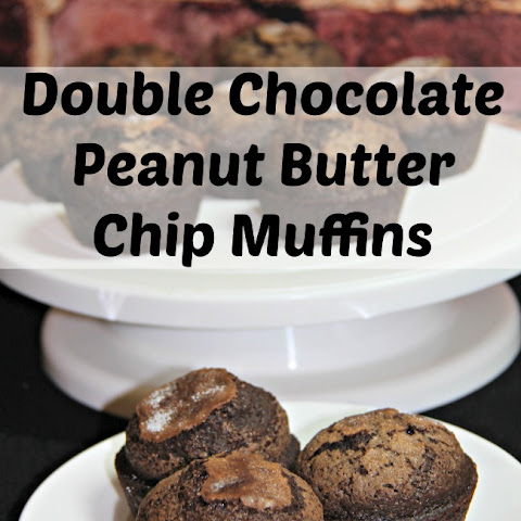 Double Chocolate Peanut Butter Chip Muffin