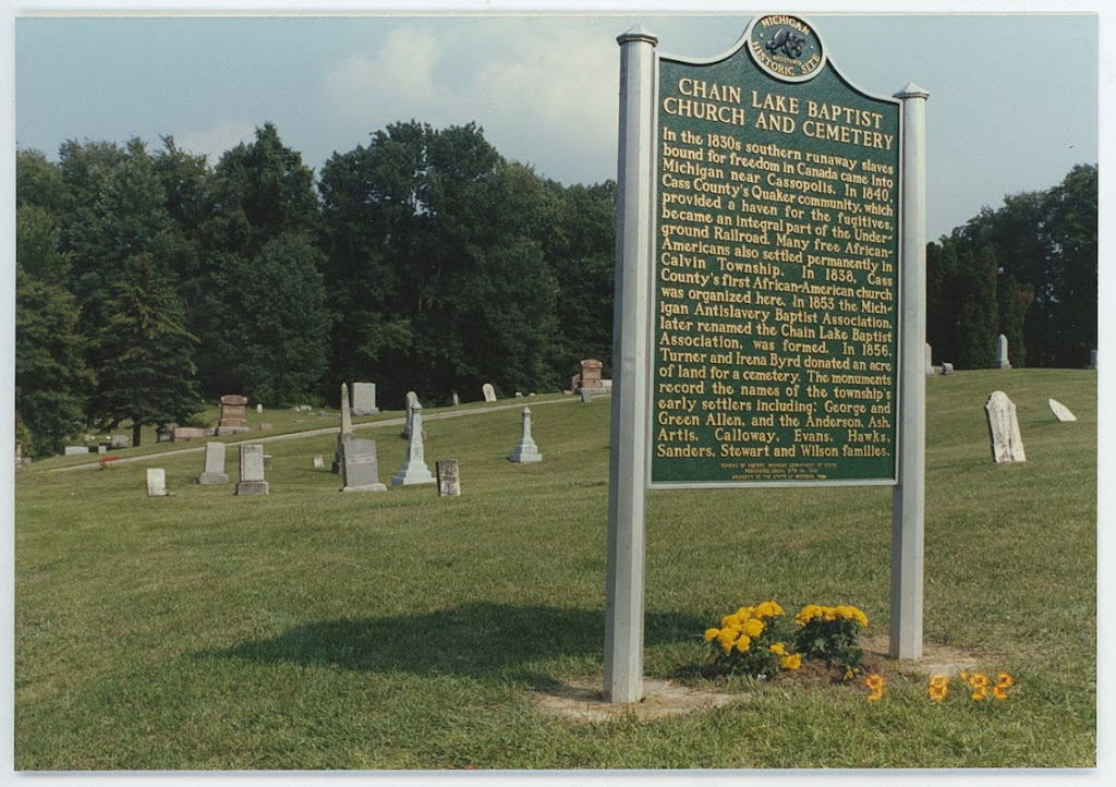 In the 1830s southern runaway slaves bound for freedom in Canada came into Michigan near Cassopolis. In 1840 Cass County's Quaker community, which provided a haven for the fugitives, became an ...